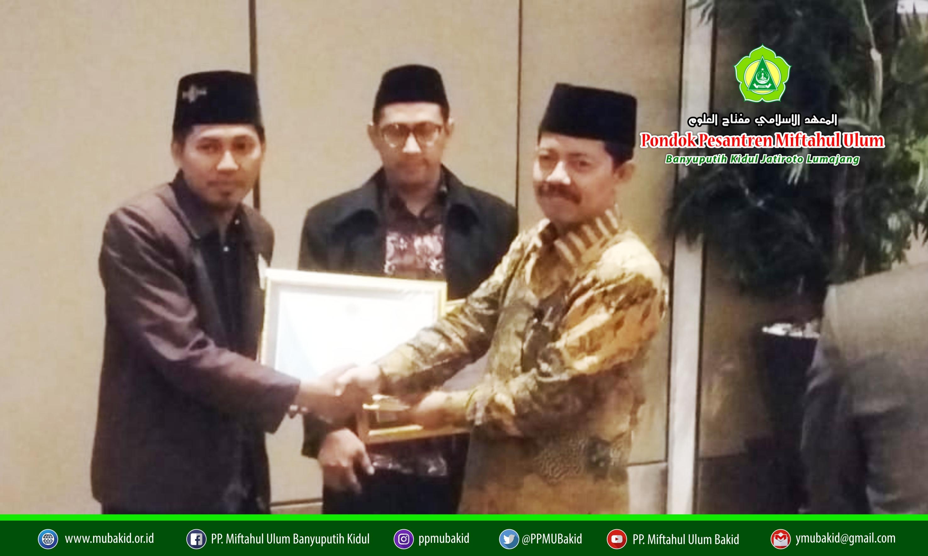 STISMU Lumajang Raih Penghargaan Kampus Terbaik II Kategori Pengelolaan Data SIMKOPTA dan PD-DIKTI 2019