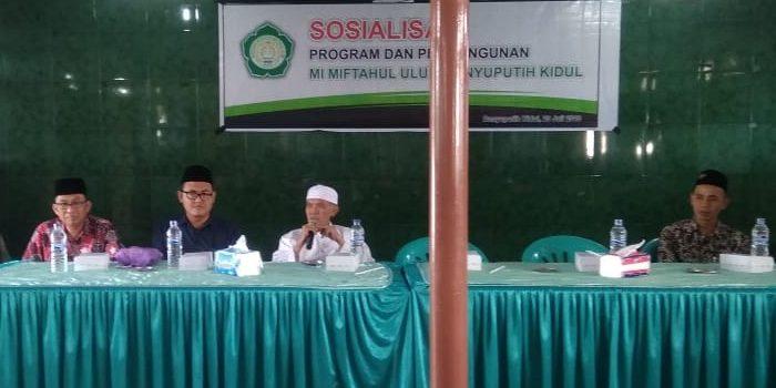 Kumpulkan Wali Murid, MI. Miftahul Ulum Bakid Sosialisasikan Program Madrasah