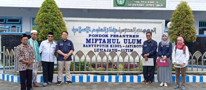 Dijten EBTKE Kementerian ESDM Survey Lokasi Pembangunan Biogas Komunal di PP. Miftahul Ulum Bakid