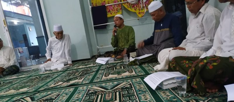 Pengurus Bidang Dakwah Yayasan Miftahul Ulum Gelar Pelatihan Bilal, Khotib dan Imam Shalat Jum'at