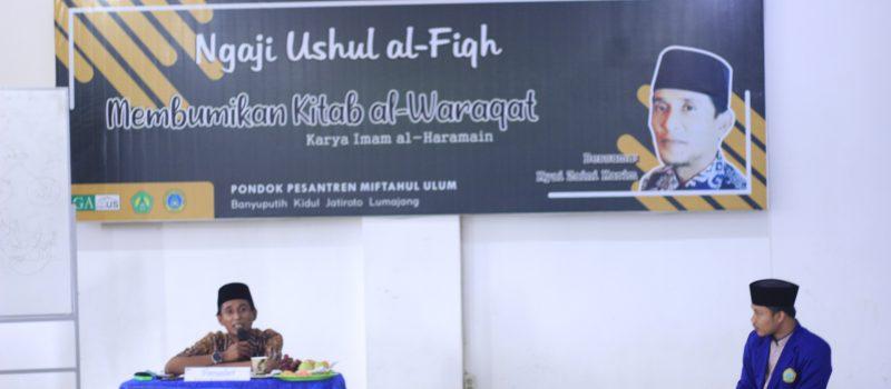 GAMUS Gelar Ngaji Ushul Fiqh : Membumikan Kitab Al-Waraqat