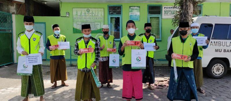 Santri Sehat Indonesia Kuat bersama dengan Poskestren Miftahul Ulum